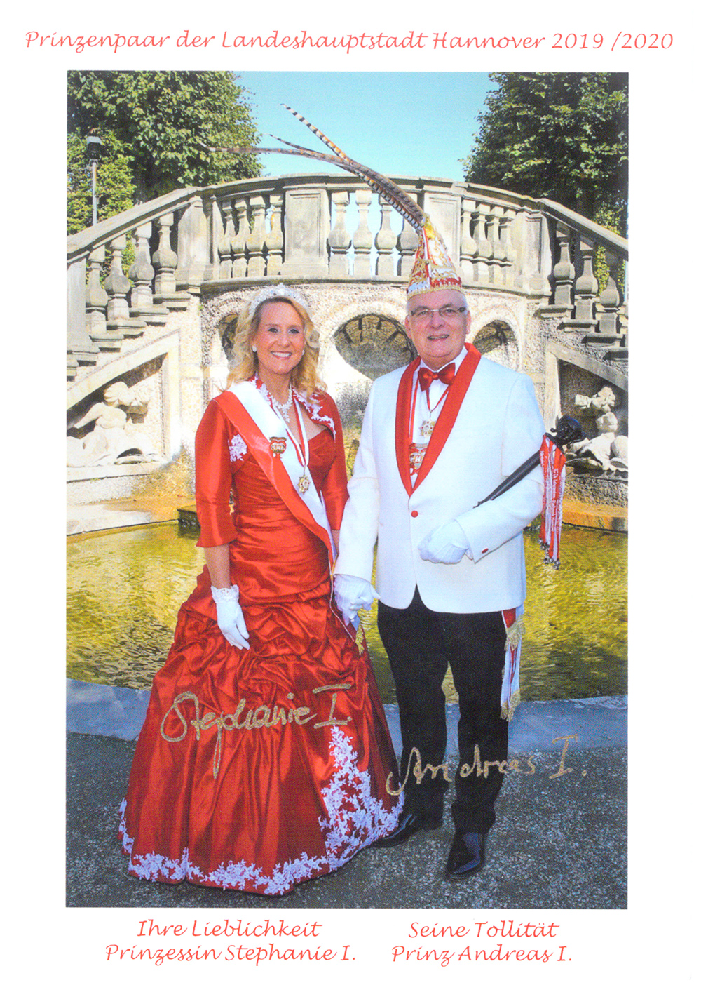 2019/2020 Andreas I. & Stephanie I.