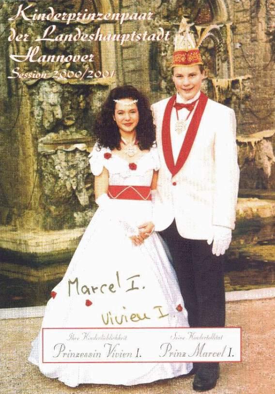2000/01 – Marcel I. & Vivien I.