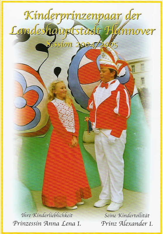 2004/05 – Alexander I. & Anna Lena I.