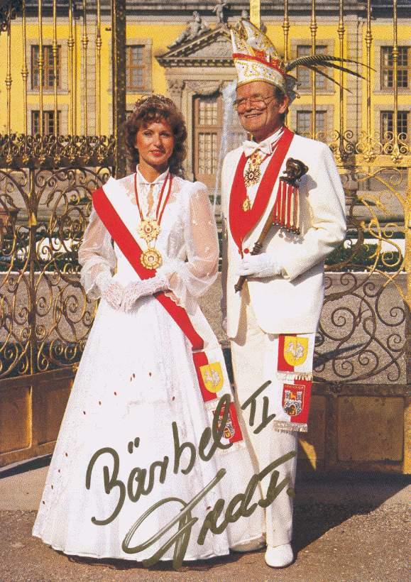 1987/88 – Fred I. & Bärbel II.
