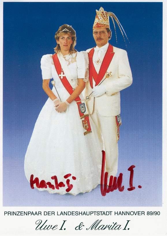 1989/90 – Uwe I. & Marita I.