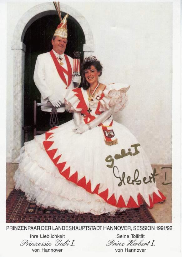 1991/92 – Herbert I. & Gabi I.