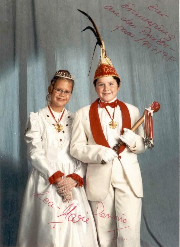 1997/98 – Dennis I. & Lea-Marie I.