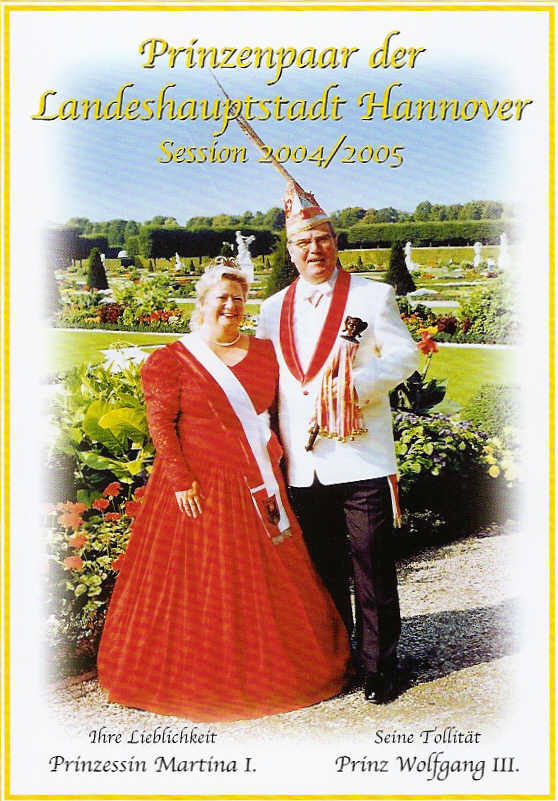 2004/05 – Wolfgang III. & Martina I.